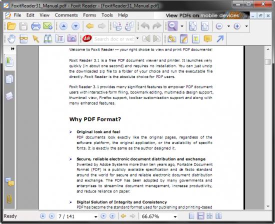 Foxit Reader 4.1.1
