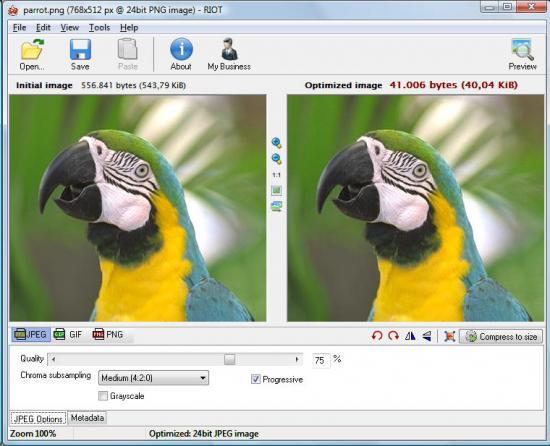 Обзор инструментов для сжатия изображений / Хабрахабр
