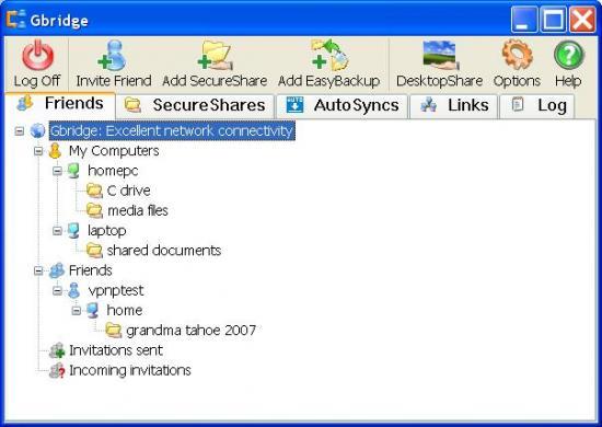 Скриншот Gbridge 2.0.0.1332