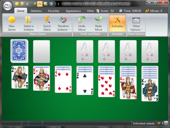 Скриншот SolSuite Solitaire 18.4