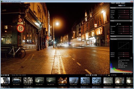 Скриншот Scarab Darkroom 1.60 Beta