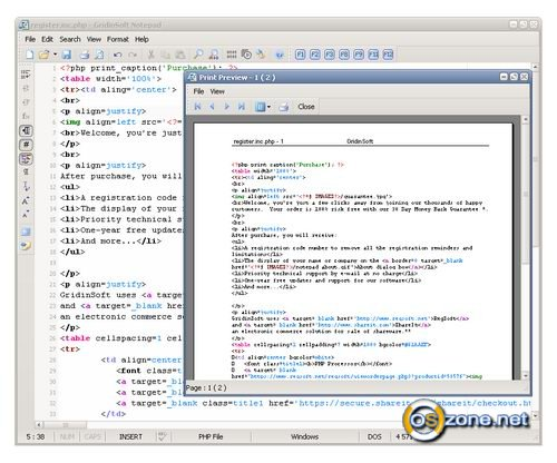Скриншот GridinSoft Notepad 3.3.2.4