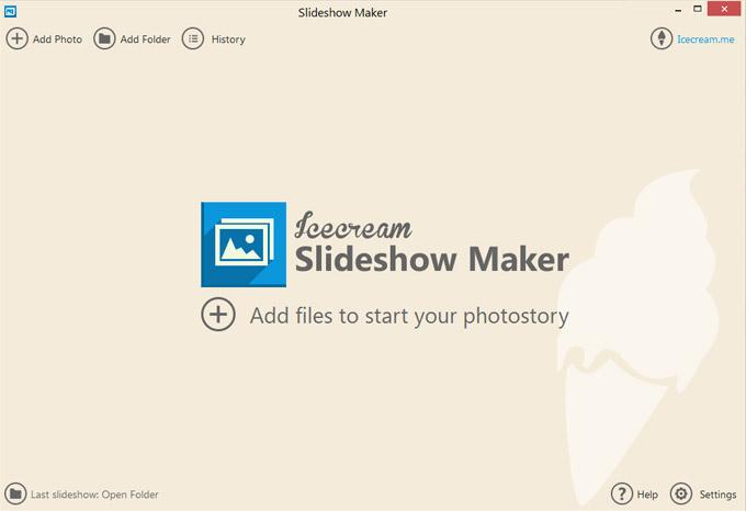 Скриншот Icecream Slideshow Maker 3.17
