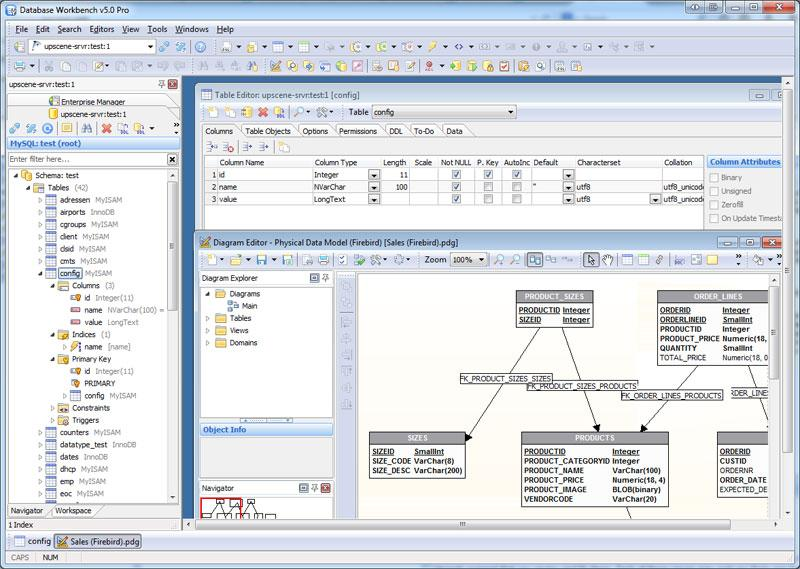Скриншот Database Workbench Pro 5.6.2