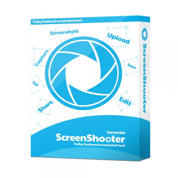 Скриншот Carambis ScreenShooter 2.2.0.2115