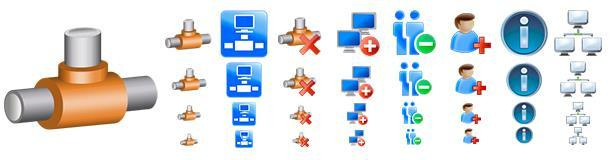 Скриншот Network Icons Pack 1.0