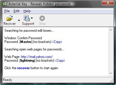 Скриншот Asterisk Key 10.0.3538