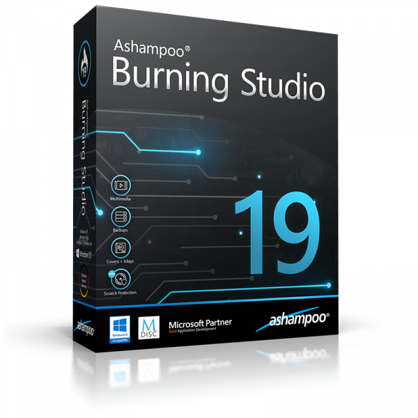 Скриншот Ashampoo Burning Studio 18.0.6