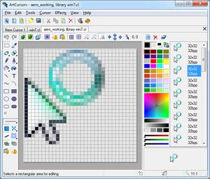 Скриншот ArtCursors 5.21