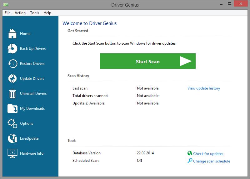 Скриншот Driver Genius Professional 12.0.0.1306
