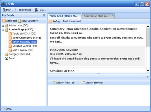 Скриншот Fresh HTML 3.30