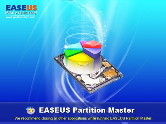 Скриншот EASEUS Partition Master Home Edition 7.1.1