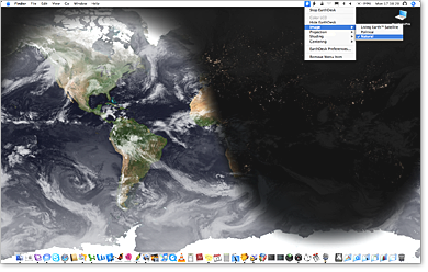 Скриншот EarthDesk 5.2.1