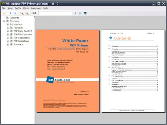 Скриншот Sumatra PDF Portable 0.9.4