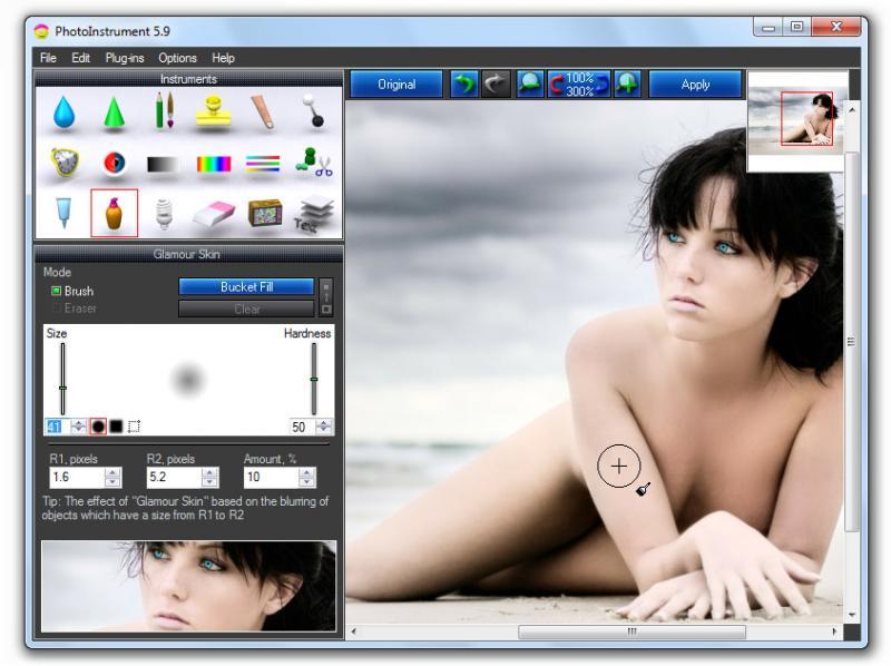 Скриншот PhotoInstrument 7.4.765