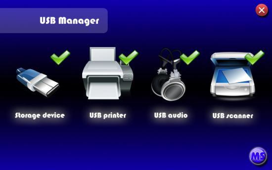 Скриншот USB Manager <!--