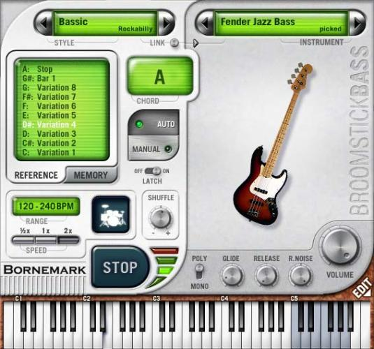 Скриншот Broomstick Bass 1.0.0
