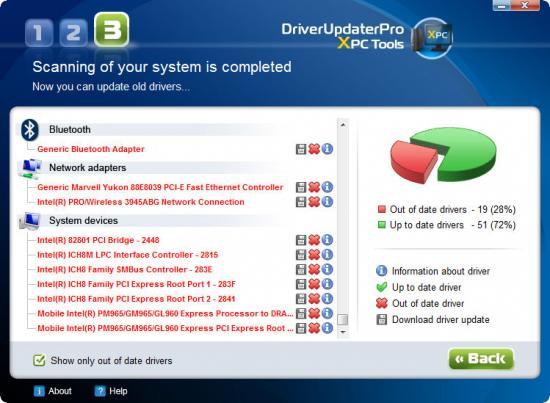 Скриншот Driver Updater Pro 2.3.2.0