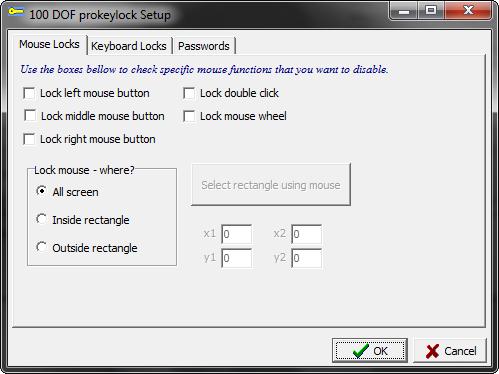Скриншот Pro-Key-Lock 2.3.0