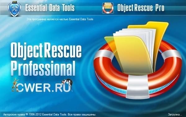 Скриншот ObjectRescue Pro 6.9